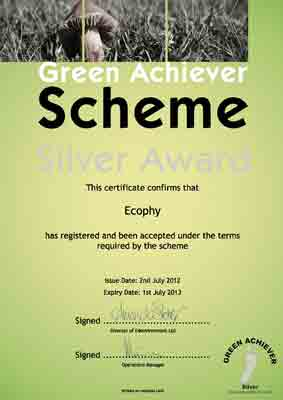 Green Award Certificate